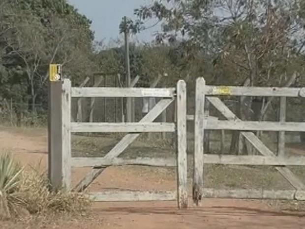 Chácara fica na Estrada do Pombo, na zona rural  (Foto: Reprodução / TV TEM)