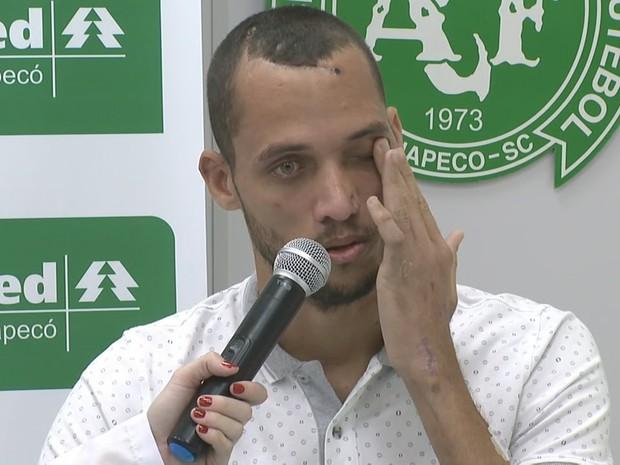 Neto falou em coletiva no hospital nesta quinta (22) (Foto: Reprodução/RBS TV)