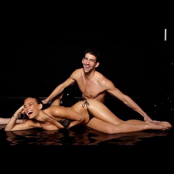 Bar Refaeli e Michael Phelps (Foto: Reprodução/Instagram)