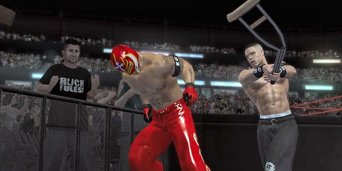 WWE SmackDown vs. Raw 2007 (Foto: Divulgação)