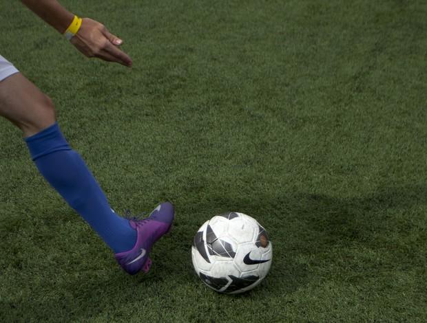 A grama sintética é cada vez mais popular no Brasil (Foto: Nike Futebol (Divulgação))