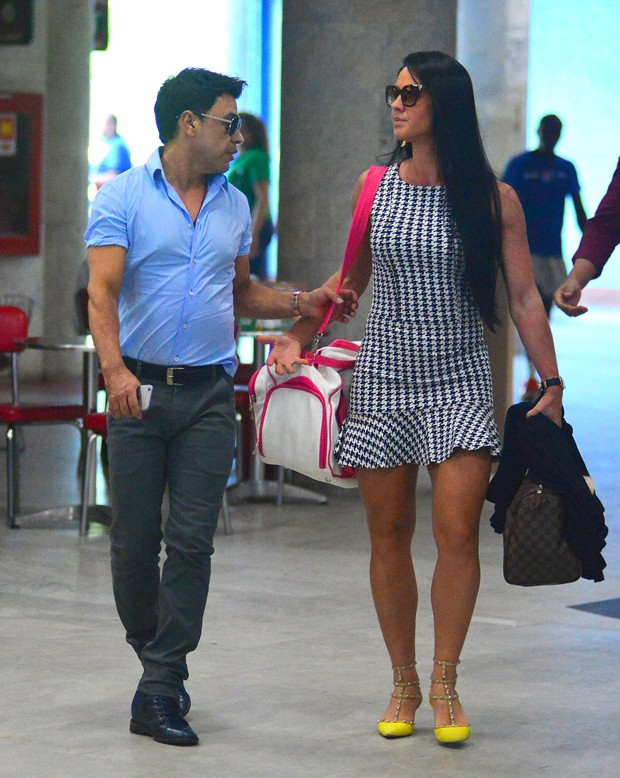 Zezé Di Camargo e Graciele Lacerda (Foto: Agnews)