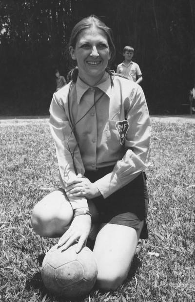 Léa Campos, primeira árbitra do Brasil (Foto: Arquivo Pessoal)