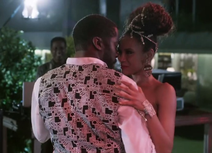Brau e Michele dançando juntinhos (Foto: TV Globo)