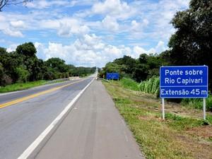 Rio Capivari abastece população de Bom Despacho (Foto: Assessoria/Prefeitura)