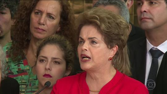 Dilma Rousseff promete oposição incansável ao governo Temer