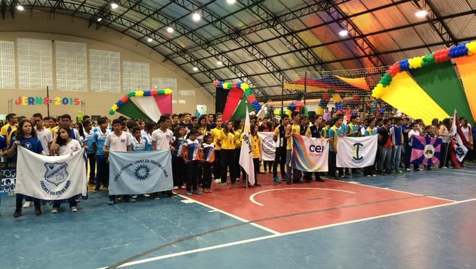 Jogos Escolares do RN 2015 (Foto: Jocaff Souza/GloboEsporte.com)