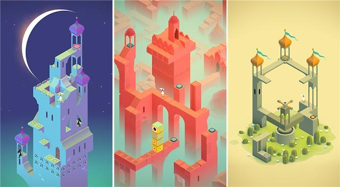 Monument Valley é um premiadíssimo game que chegou ao Windows Phone (Foto: Divulgação/Windows Phone Store)