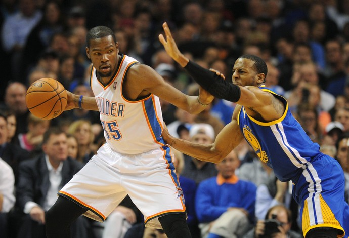 Kevin Durant Oklahoma City Thunder x Golden State Warriors (Foto: Reuters)