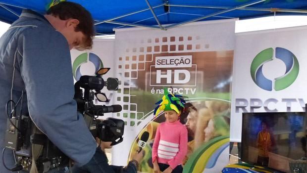 A Seleção HD é na RPC TV! chega a Arapongas (Foto: Divulgação/RPC TV)