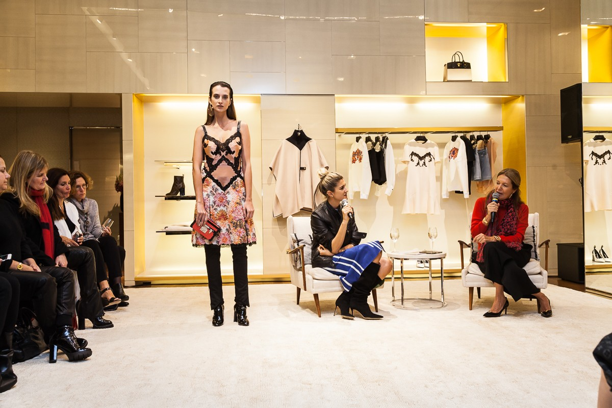 Air France e Vogue armam desfile na Louis Vuitton (Foto: David Mazzo)