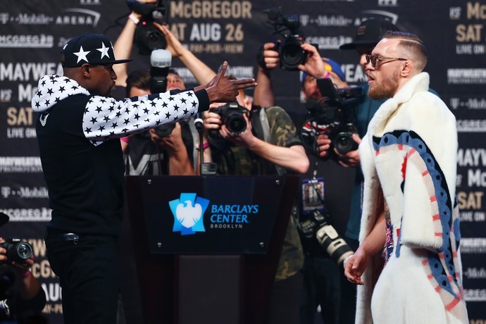 Conor McGregor Floyd Mayweather May-Mac Brooklyn (Foto: Getty Images)