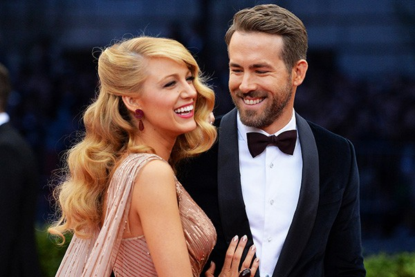 Blake Lively e Ryan Reynolds: os mais novos pais de Hollywood (Foto: Getty Images)