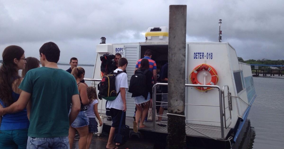 Transporte marítimo começa a funcionar no Norte de SC - Globo.com