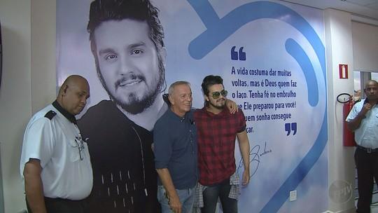 Luan Santana dá nome a nova unidade do Hospital de Câncer de Barretos, SP