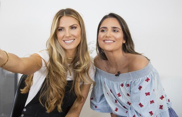 Giovana Duval e Luiza Souza (Foto: Pedro Abreu)