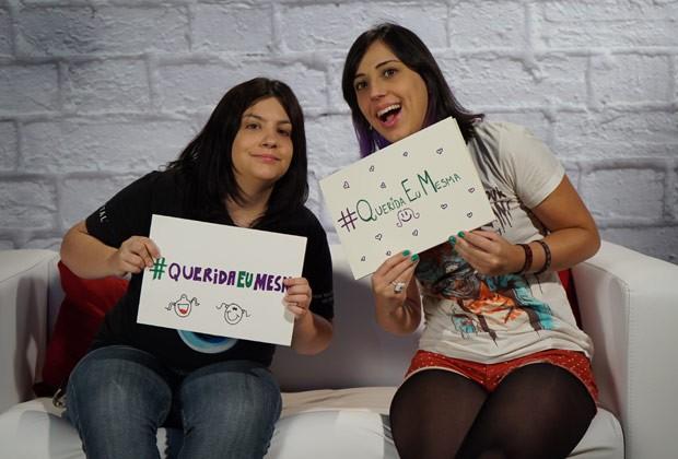 Barbara Jacinto e Tamirys Senro, do Garotas Geeks: vídeos sobre games feito por mulheres (Foto: Divulgação)