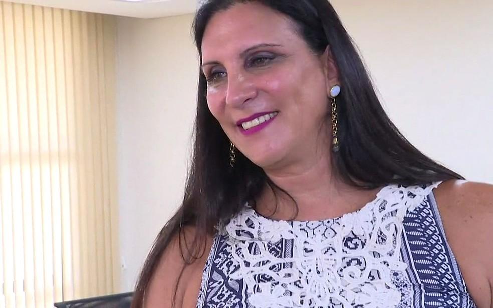 A advogada transexual Marcia Rocha obteve o registro do nome social da OAB-SP (Foto: GloboNews/Reprodução)