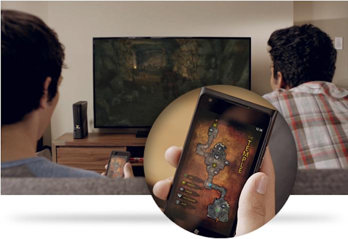 Aplicativo SmartGlass ajuda a controlar melhor o Xbox One (Foto: Divulgação/Microsoft)