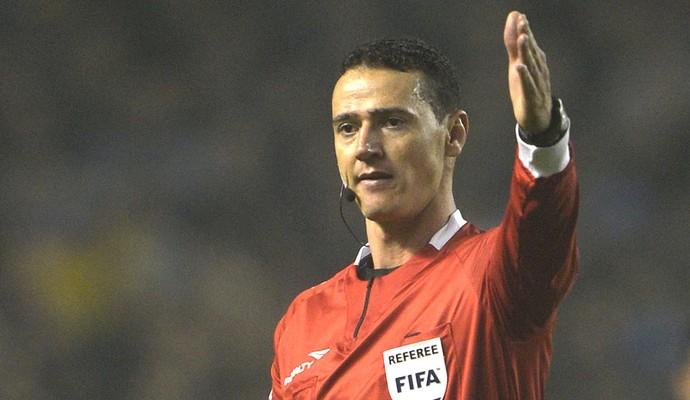 Wilmar Roldan árbitro final Libertadores (Foto: AFP)