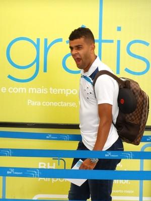 Alisson, atacante do Cruzeiro (Foto: Rafael Araújo)