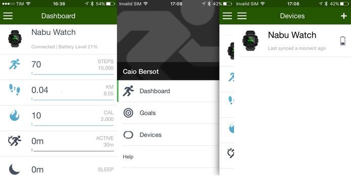 App Nabu tem interface simples e bom desempenho (Foto: Reprodução/Caio Bersot)