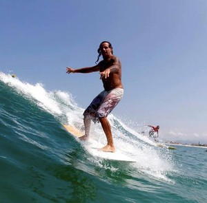 Wagner Cataldo, surfista de Búzios (Foto: Arquivo pessoal)