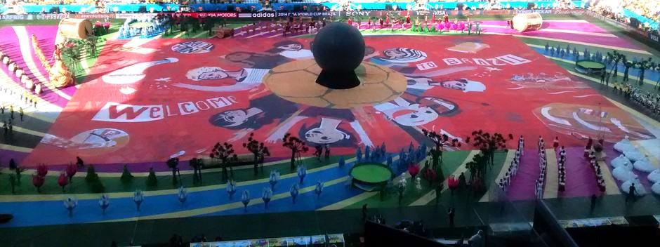 Festa Abertura Arena Corinthians Copa do Mundo