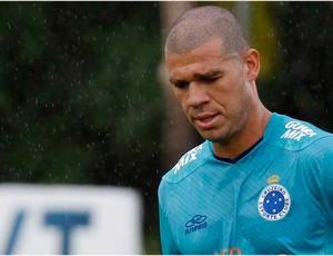 Nilton, treino, Cruzeiro, Toca da Raposa II (Foto: Washington Alves / Vipcomm)