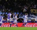 Willian José marca, e Real Sociedad vence o Atlético de Diego Simeone