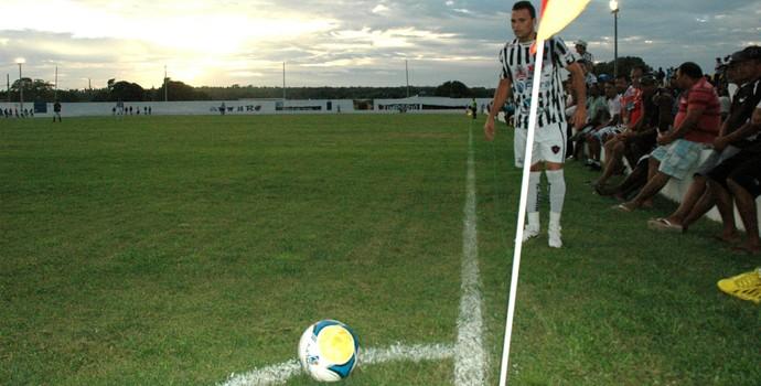 Leomir, meia do Botafogo-PB (Foto: Amauri Aquino / GloboEsporte.com/pb)