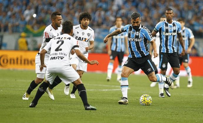 Douglas Grêmio x Atlético-MG (Foto: Lucas Uebel/Divulgação Grêmio)