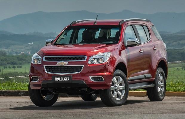 Dianteira do Chevrolet Trailblazer 2016 (Foto: Divulgação)