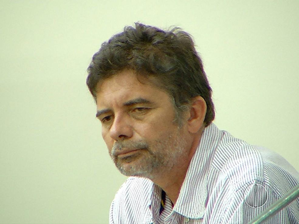Gutson Reinaldo, em fevereiro de 2016 (Foto: Reprodução/ Inter TV Cabugi)