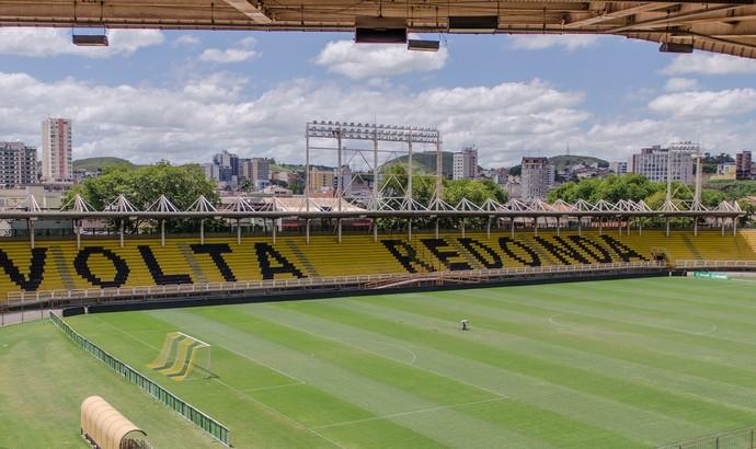 Estádio Raulino de Oliveira, em Volta Redonda (Foto: Yuri Melo)