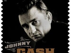 Imagem do selo especial de Johnny Cash (Foto: Divulgação/Beyond the Perf)