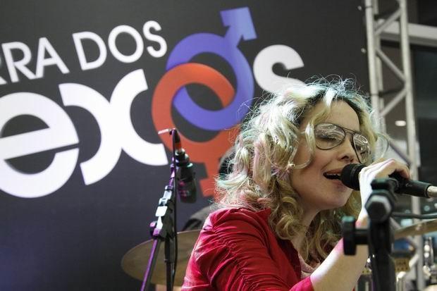 Lançamento de Guerra dos Sexos em Curitiba (Foto: Euricles Macedo/ RPC TV)