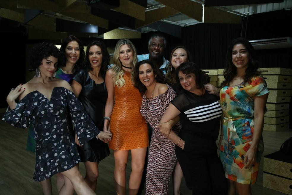 Elenco do Zorra se reúne em coletiva (Foto: Isabella Pinheiro/Gshow)