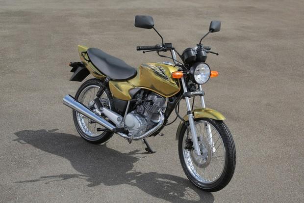 Honda CG 150 2003 (Foto: Divulgação)