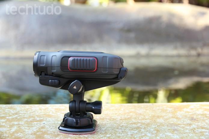 Action Camera Garmin (Foto: Anna Kellen/TechTudo)