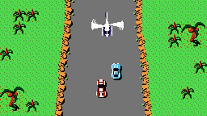 Spy Hunter misturava corrida e combates no melhor estilo espião (Foto: Nintendo Game Maps)