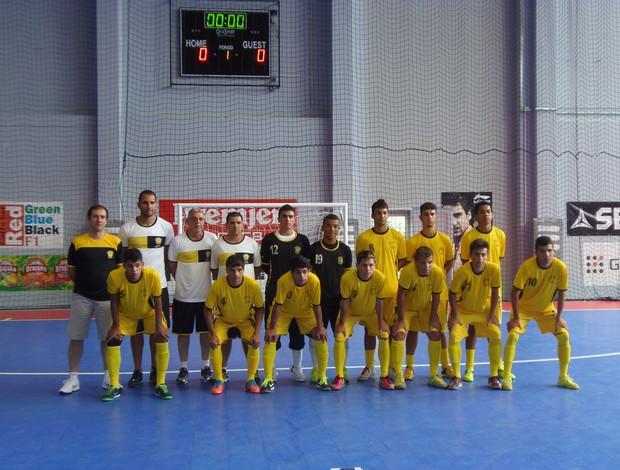 Equipe de Futsal Sub-17 Praia Clube Mundialito Croácia (Foto: Divulgação/Praia Clube)
