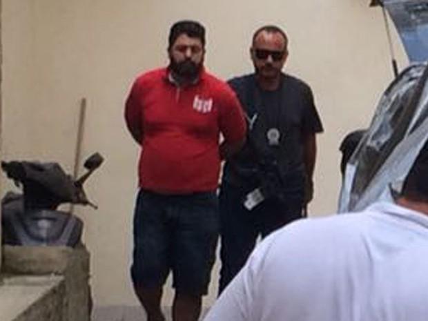 Diogo Maia dos Santos é transferido da 12ª DP (Foto: Patricia Teixeira/G1)