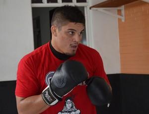 Delan Monte, paraibano, atleta de MMA (Foto: Amauri Aquino / GloboEsporte.com/pb)