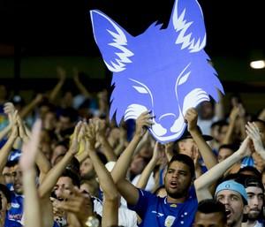 Torcida Cruzeiro (Foto: Washington Alves/Light Press)