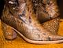Festa de Barretos tem bota que custa R$ 77 mil (Érico Andrade/G1)