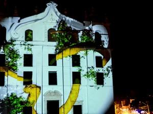 Festival de mapping em Belém (Foto: Divulgação)