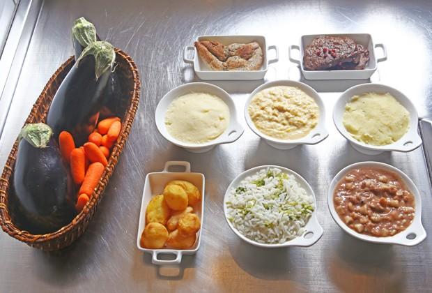Ingredientes da receita de legumes (Foto: Marcelo Navarro/Editora Globo)