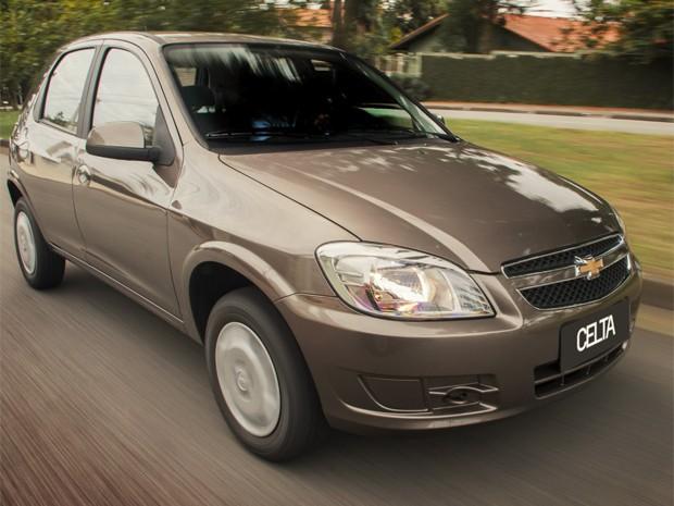 Chevrolet Celta 2014 (Foto: Divulgação)