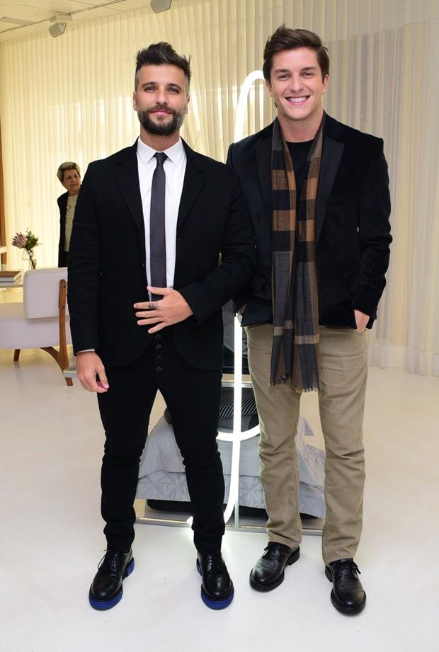 Bruno Gagliasso e Klebber Toledo (Foto: Leo Franco/AgNews)